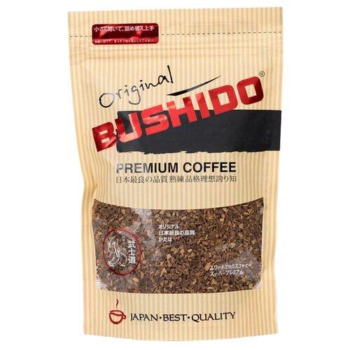 Кофе растворимый Bushido Original, пакет, 75 г