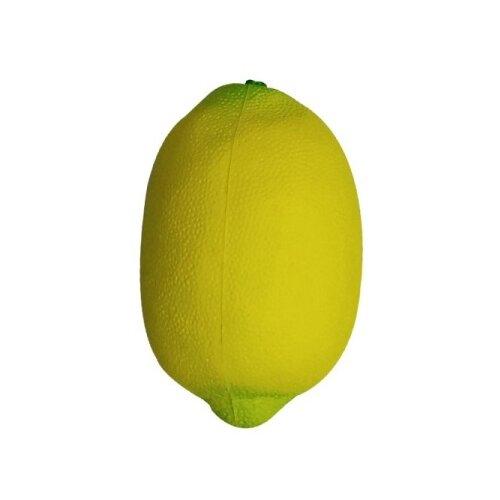 Купить Игрушка-мялка 1 TOY Лимон Т12318 желтый, Игрушки-антистресс