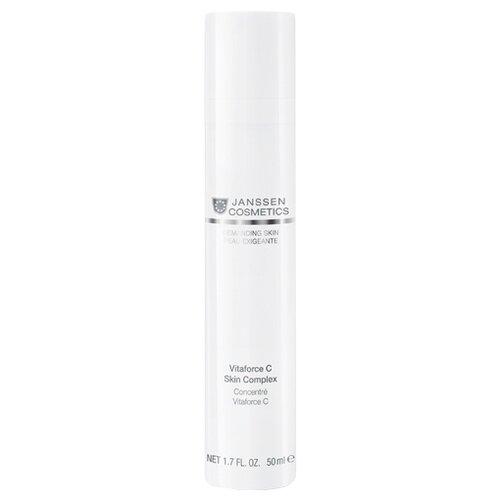 Купить Janssen Cosmetics Demanding Skin Vitaforce C Skin Complex Регенерирующий концентрат для лица с витамином С, 50 мл