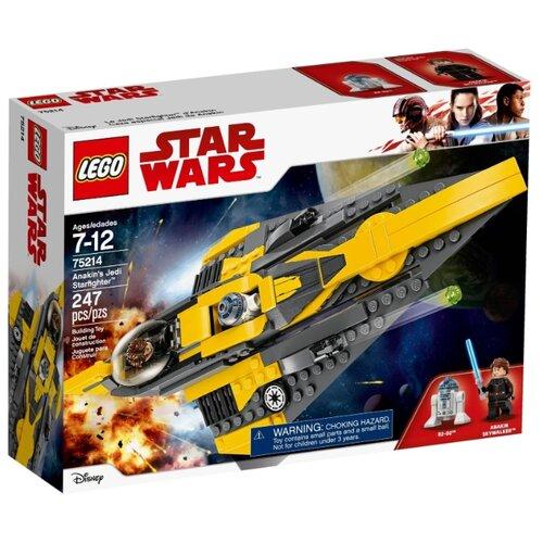 Конструктор LEGO Star Wars 75214 Звёздный истребитель ЭнакинаКонструкторы<br>