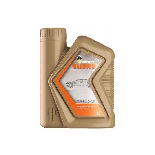 Моторное масло Роснефть Maximum 15W-40 1 л
