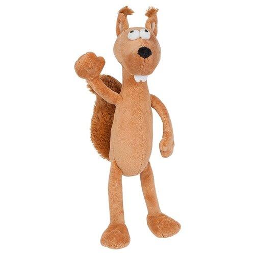 Купить Мягкая игрушка Maxitoys Бельчонок - рыжий хвостик 22 см, Мягкие игрушки