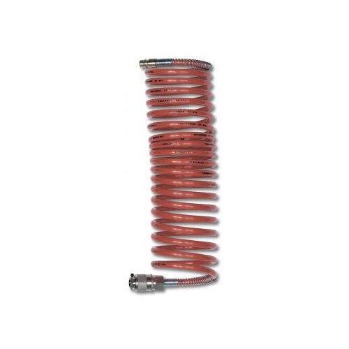 Шланг GAV Спиральный полиамидный SRU 8х10мм 10067 10 м сопло gav 1000 r 0 7