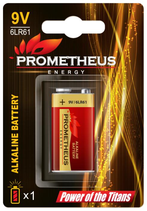Батарейка Prometheus Energy Крона 6LR61