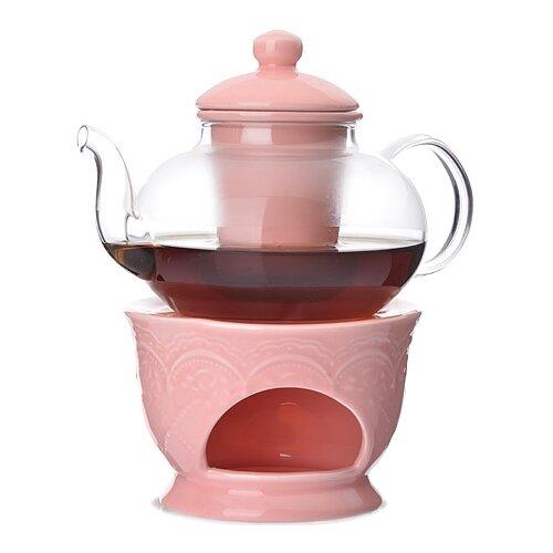 MAYER & BOCH Заварочный чайник 27563/27564/27565/27566/27567 600 мл прозрачный/розовыйЗаварочные чайники<br>