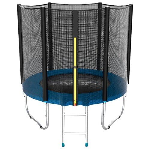 Каркасный батут EVO Jump 6FT External 183х183х210 см blueКаркасные батуты<br>
