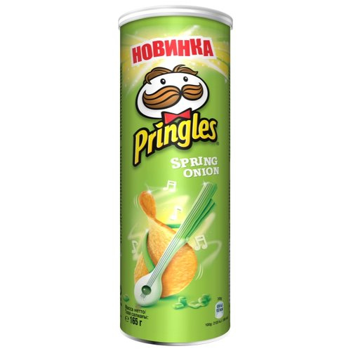 Чипсы Pringles картофельные Spring onion, 165 г