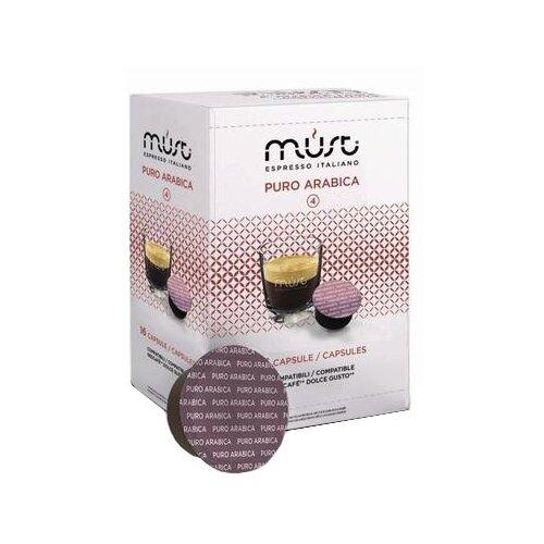 Фото - Кофе в капсулах MUST Puro Arabica (16 капс.) кофе в капсулах absolut drive латте маккиато 16 капс