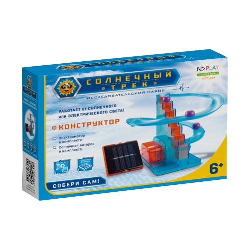 Электромеханический конструктор ND Play На солнечной энергии 273874 Солнечный трек конструктор nd play nd play mp002xu02g3a