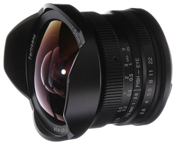 Объектив 7artisans 7.5mm f/2.8 Canon M