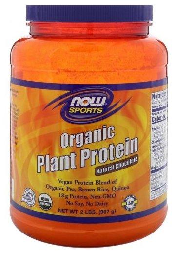 Протеин NOW Organic Plant Protein (907 г)