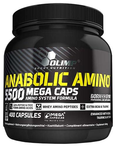 Аминокислотный комплекс Olimp Anabolic Amino 5500 (400 капсул)