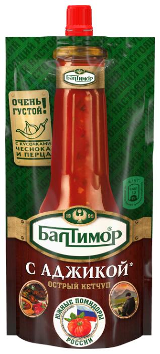 Кетчуп Балтимор С аджикой острый