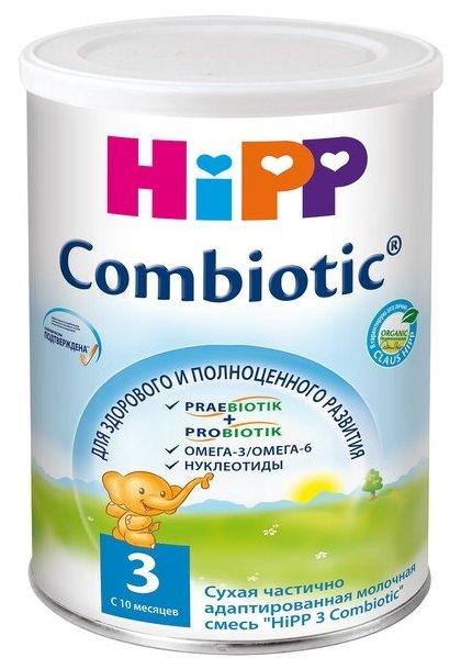 Смесь HiPP 3 Combiotic (с 10 месяцев) 350 г