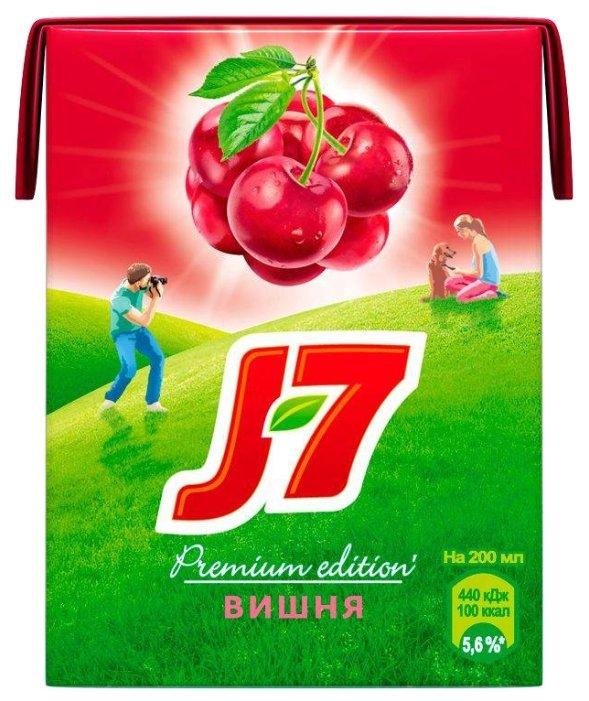 Нектар J7 Вишня, без сахара