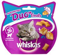 Лакомство для кошек Whiskas Duo Treats c лососем и сыром 40 г