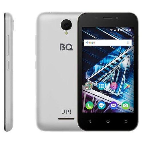 Смартфон BQ 4028 UP! серебряный смартфон bq bq 4028 up gray