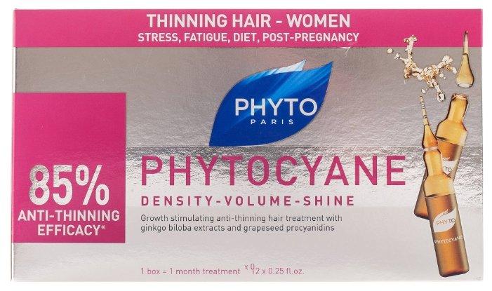 PHYTO Phytocyane Сыворотка против выпадения волос