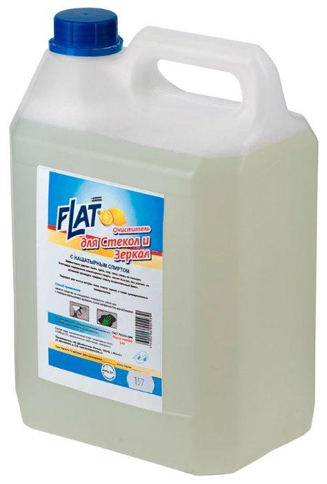 Жидкость FLAT для стекол и зеркал с нашатырным спиртом