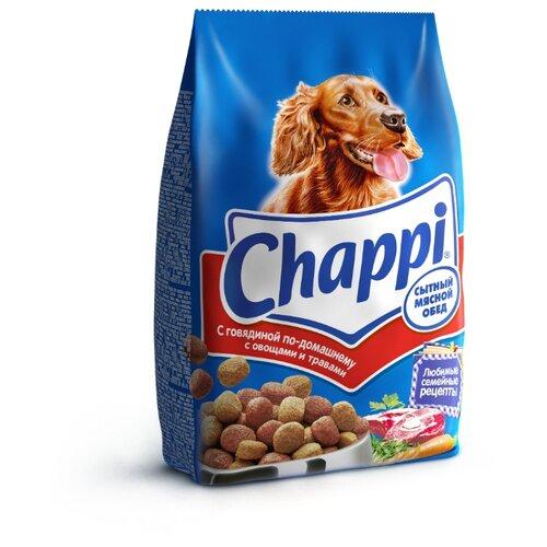 Корм для собак Chappi (0.6 кг) Сухой корм с Говядиной по-домашнему с овощами и травамиКорма для собак<br>