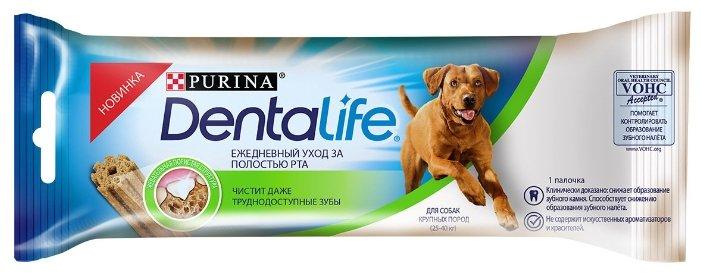 Лакомство для собак Dentalife Уход за полостью рта для крупных пород