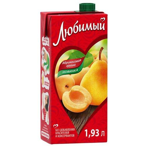 Напиток сокосодержащий Любимый Яблоко-Абрикос-Груша с крышкой, 1.93 лСоки, нектары, морсы<br>