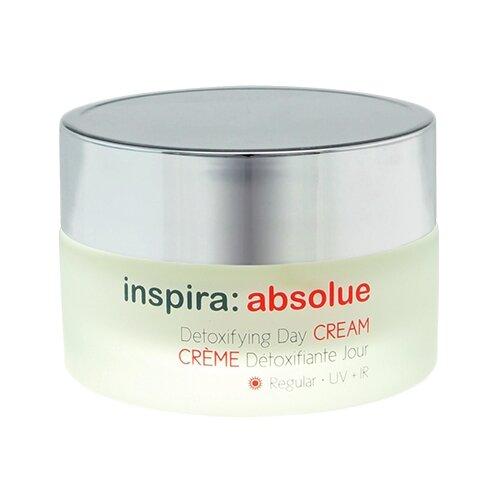 Купить Inspira Cosmetics absolue Detoxifying Day Cream Regular Детоксицирующий легкий дневной крем для лица, шеи и области декольте, 50 мл