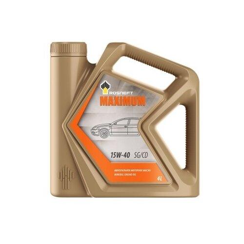 Моторное масло Роснефть Maximum 15W-40 4 л