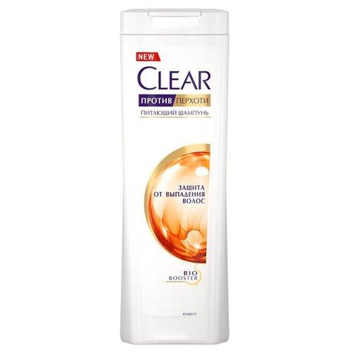 Clear шампунь против перхоти для женщин питающий Защита от выпадения волос, 200 мл ducray неоптид лосьон от выпадения волос для мужчин 100 мл