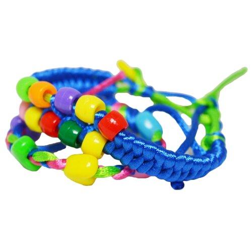 Купить Дрофа-Медиа Наборы для создания украшений Стильные штучки. Браслеты из шелковых шнурков (2 в 1) (3202)