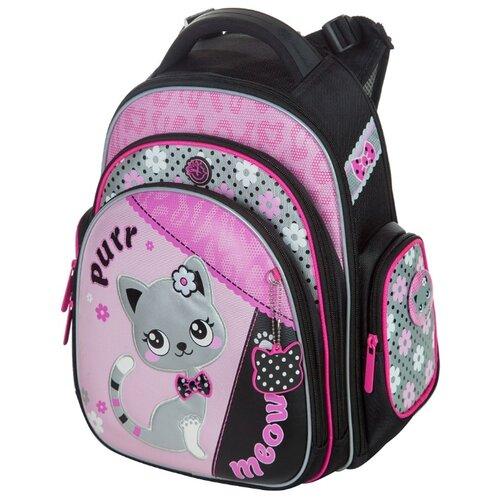 Hummingbird Рюкзак Purr Meow (TK38), черный / розовый hummingbird рюкзак miss b t20 серый