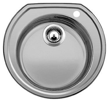 Врезная кухонная мойка Blanco Rondoval 53.5х49см нержавеющая сталь