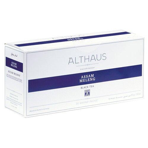 Фото - Чай черный Althaus Assam Meleng в пакетиках для чайника, 80 г 20 шт. чай в пакетиках фиточаи байкальские женский лечебный с боровой маткой 20 шт по 1 5 г