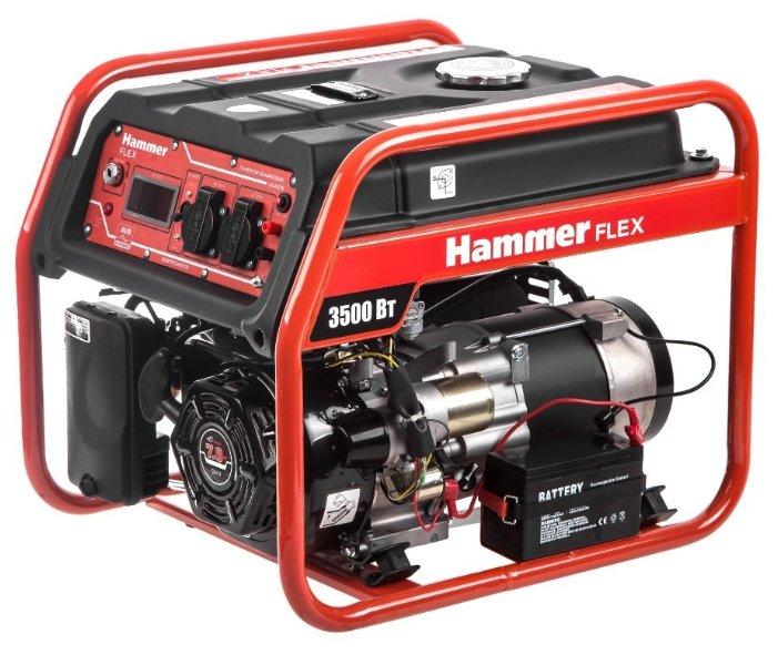 Бензиновый генератор Hammer GN4000E (3200 Вт)