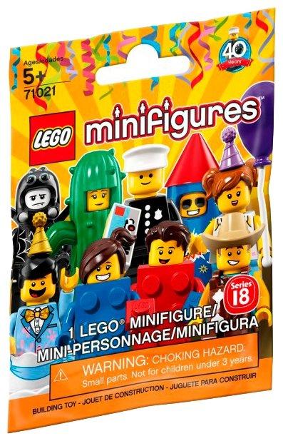 Конструктор LEGO Collectable Minifigures 71021 Серия 18