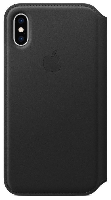 Чехол-книжка Apple Leather Folio для iPhone XS лазурная волна MRX02ZM/A