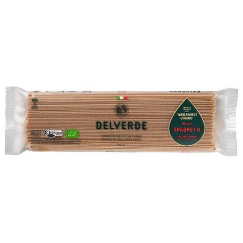 Delverde Industrie Alimentari Spa Макароны Integrale Biologica Organic № 141 Spaghetti цельнозерновые, 500 г