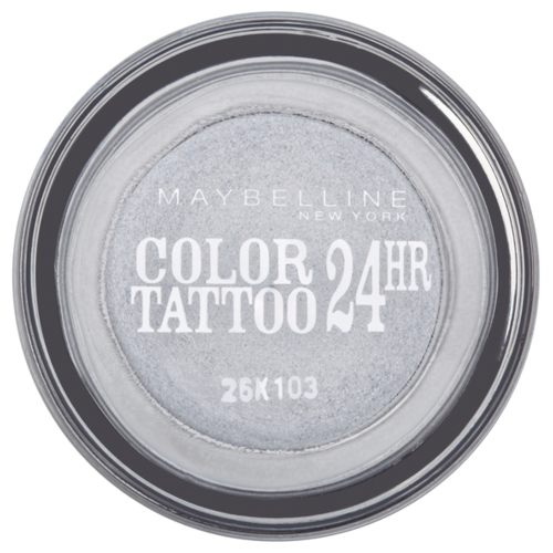 Maybelline New York Тени для век Color Tattoo 24 часа 50, Неизменное серебро maybelline color tattoo тени для глаз тон 102 мерцающая фантазия