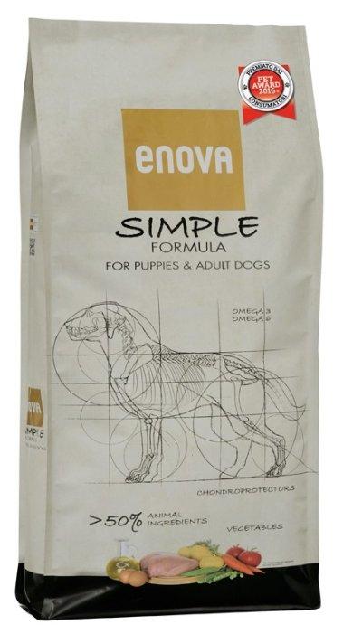 Корм для собак ENOVA (12 кг) Simple Formula