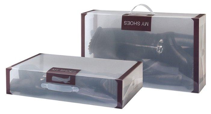 EL CASA Набор коробок для хранения обуви 30х52х11 см