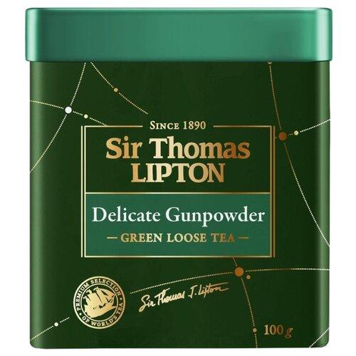 Чай зеленый Sir Thomas Lipton Delicate Gunpowder, 100 гЧай<br>