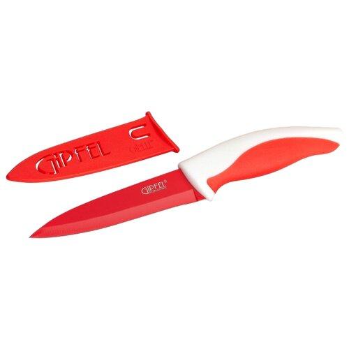 GIPFEL Нож Picnic 10 см красный/белый