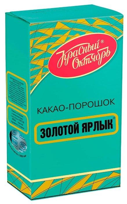 Какао Красный Октябрь Золотой ярлык порошок 100 г x 3 шт