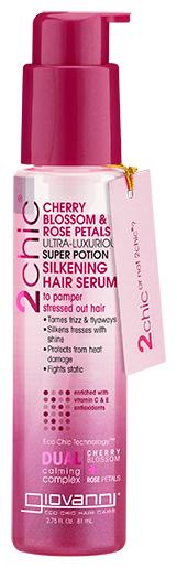 Giovanni 2chic Ultra-Luxurious Роскошная сыворотка для шелковисто мягких волос Super Potion