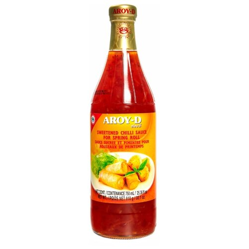 Соус Aroy-D Sweetened chilli for spring roll, 910 г