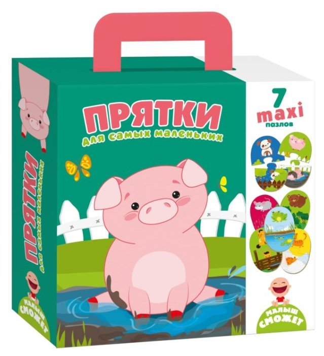 Набор пазлов Vladi Toys Прятки (VT2904-06)