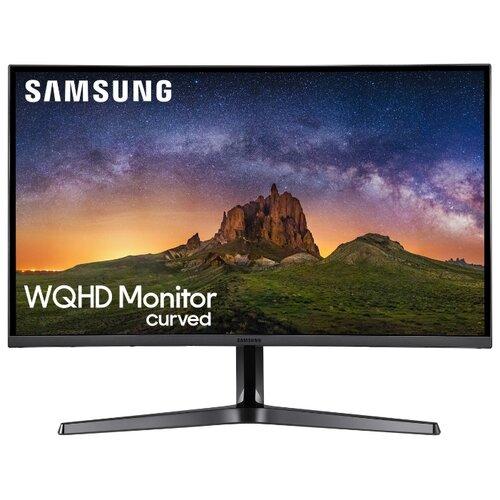 Монитор Samsung C27JG50QQI 26.9 черный монитор samsung s27e391h 27 белый и голубой [ls27e391hsx ci]