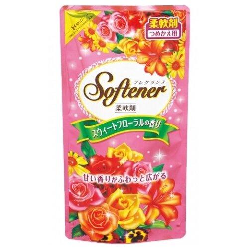 Фото - Nihon Detergent Кондиционер-ополаскиватель для белья с цветочным ароматом, 0.5 л кондиционер для белья nihon softener premium rose 500 мл