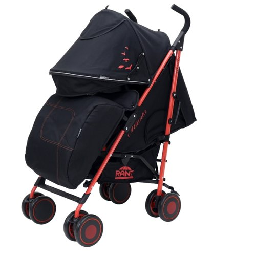 Купить Прогулочная коляска RANT Atlanta 2018 black/red, Коляски