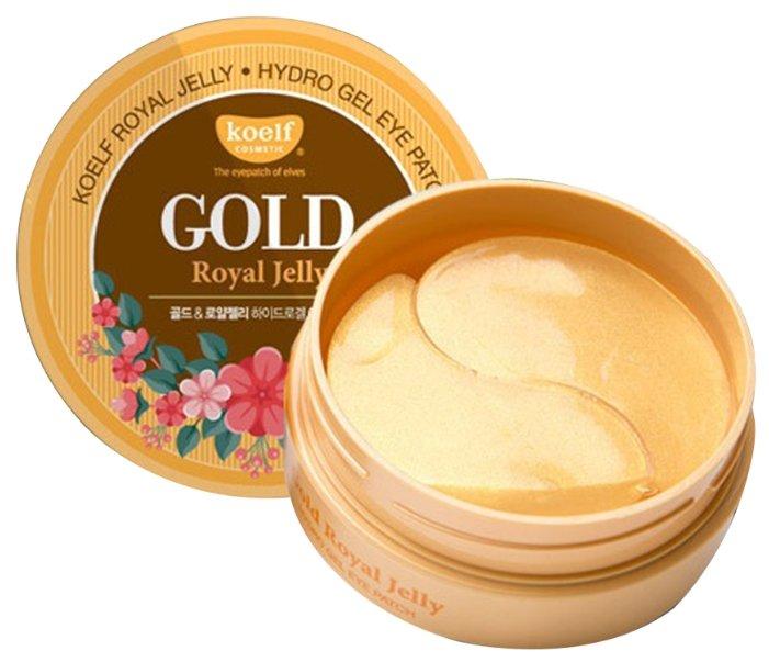 Koelf Гидрогелевые патчи для век с частицами коллоидного золота и маточным молочком Hydro Gel Gold & Royal Jelly Eye Patch (60 шт.)